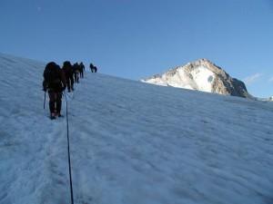 Morgenvandring På vej mod ca. 3400 m.o.h.